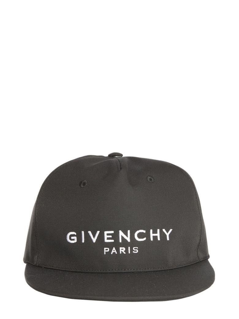 Givenchy Hat With Flat Visor - NERO
