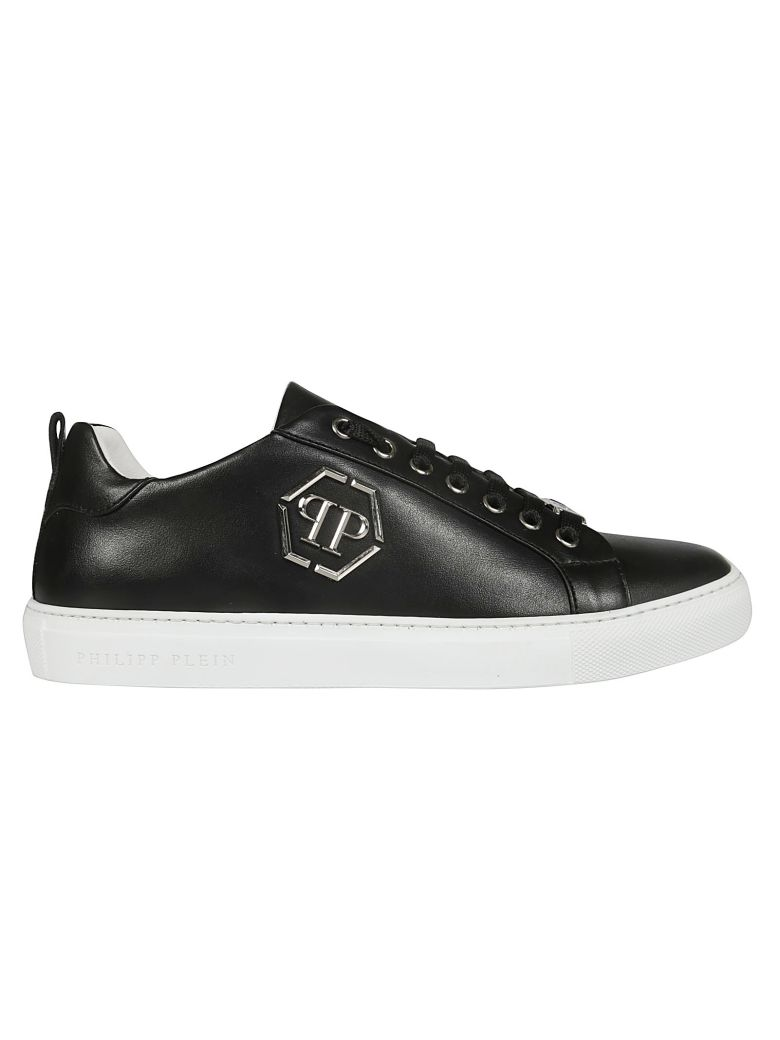 Philipp Plein Logo Plaque Sneakers - Black