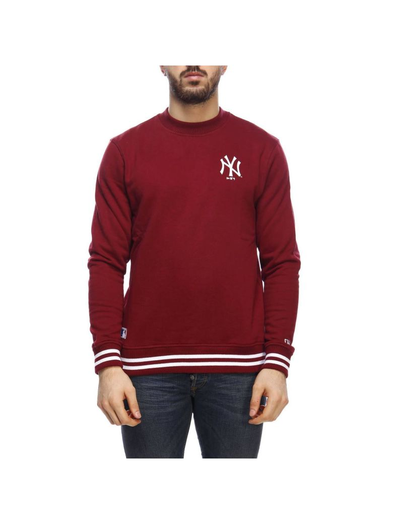 New Era Sweater Sweater Men New Era - burgundy