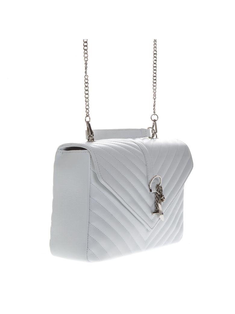 Marc Ellis Shoulder MARC ELLIS DANARAS SHOULDER BAG IN WHITE LEATHER