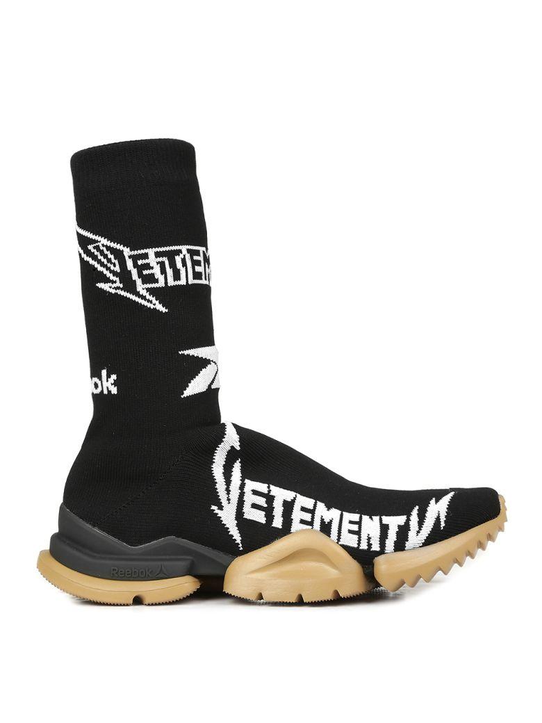 VETEMENTS - Sneakers - Black white