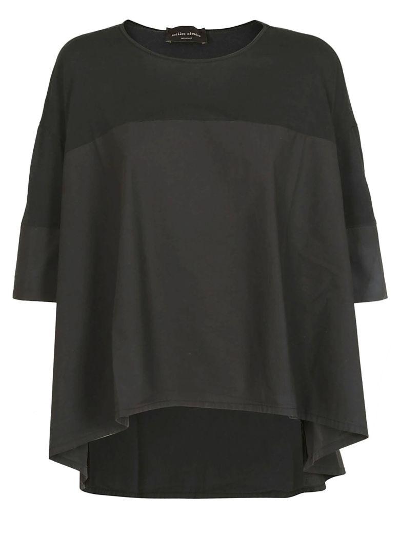 Roberto Collina Oversized Fit Top - Black