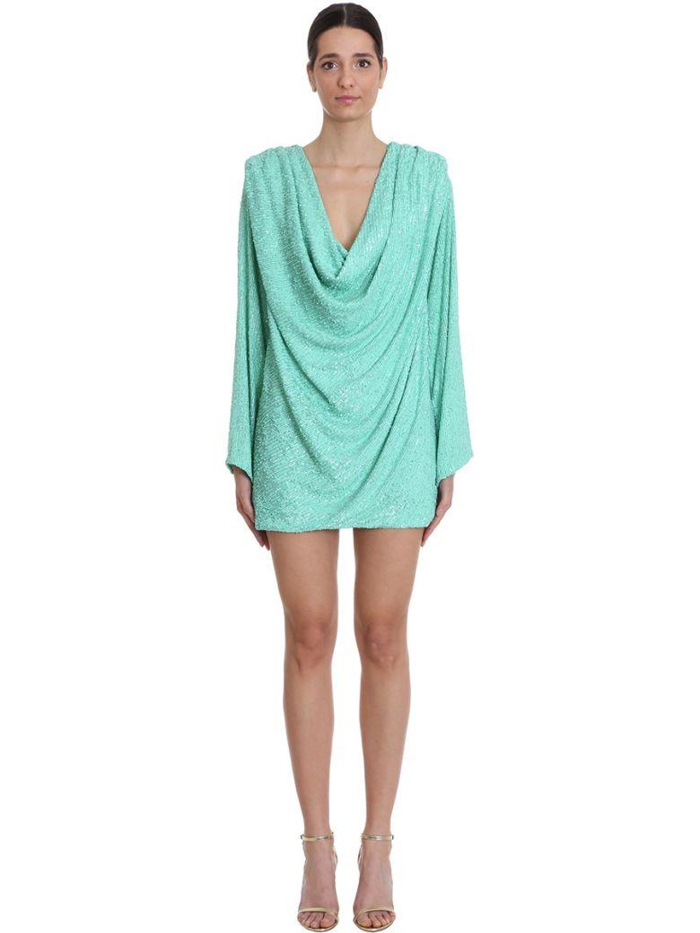 Nervi Carol Dress In Green Polyamide - green