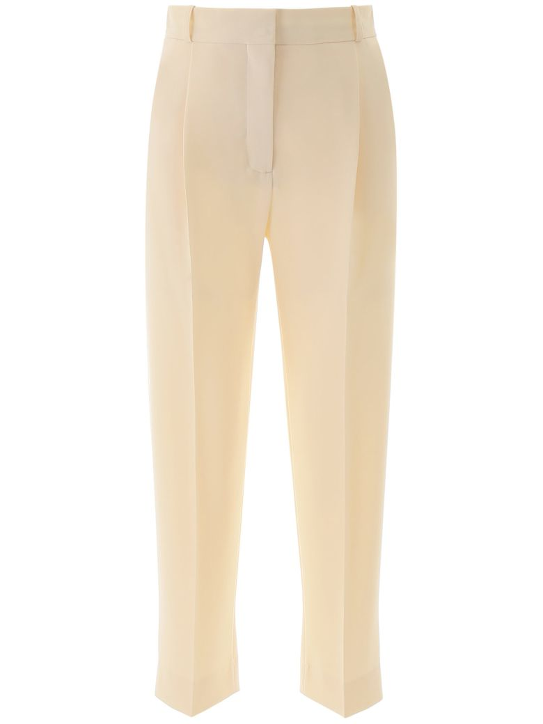 See by Chloé Cropped Trousers - Bianco