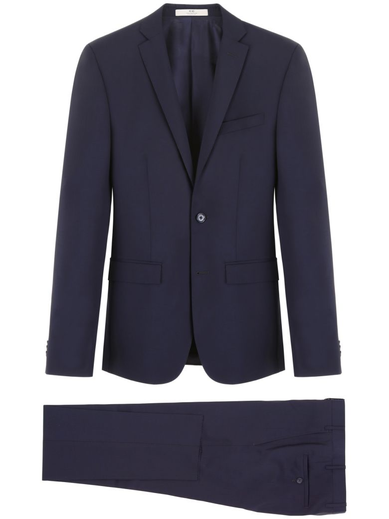CC Collection Corneliani Wool And Mohair Dress - BLU NAVY (Blue)