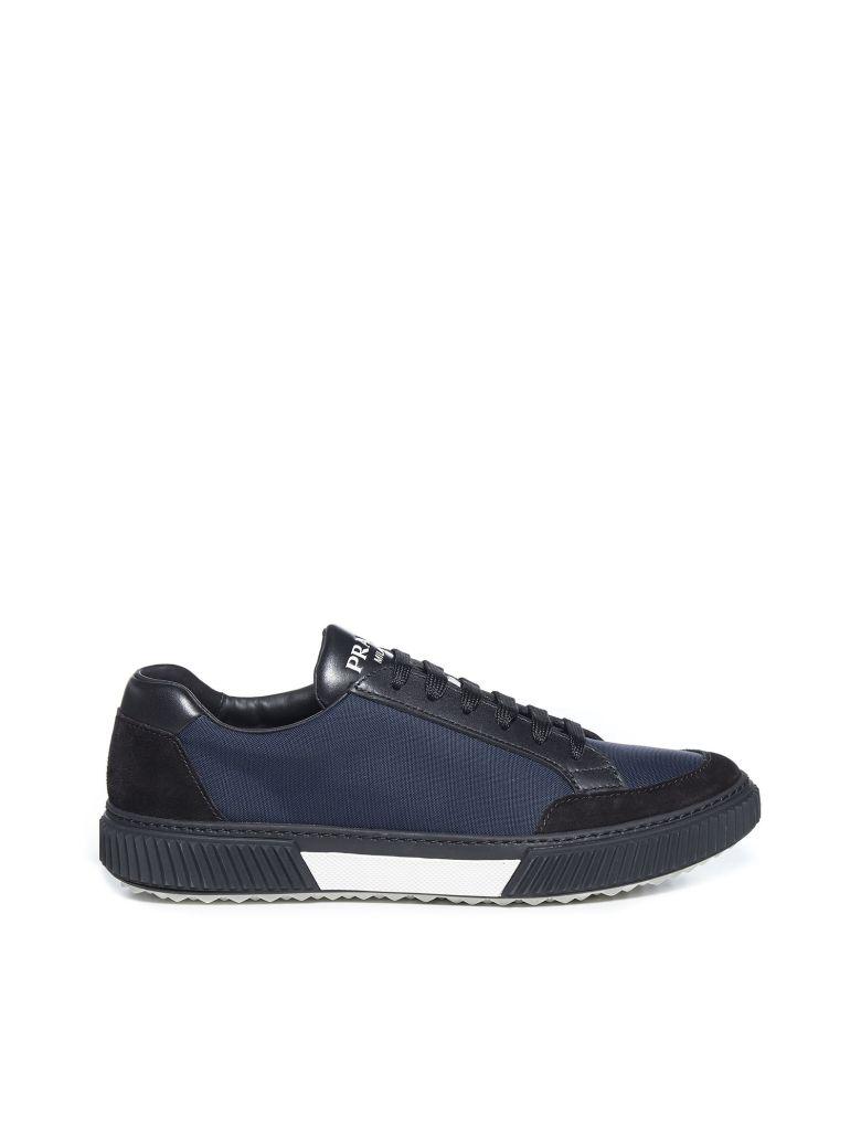 Prada Linea Rossa Stratus Sneakers - Nero oltremare