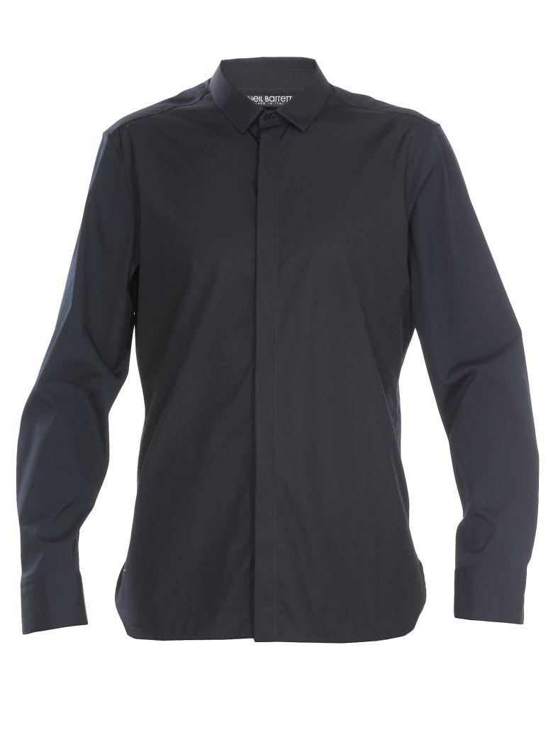 Neil Barrett Cotton Shirt - DARK NAVY