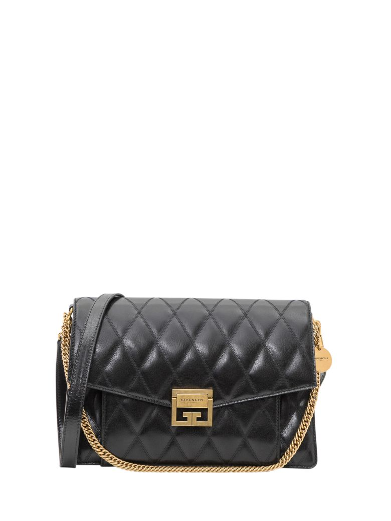 Givenchy Gv3 Medium Shoulder Bag - Nero