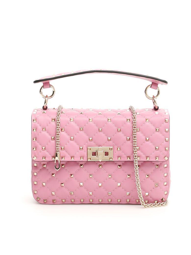 Valentino Rockstud Spike Bag - GIACINTO (Pink)