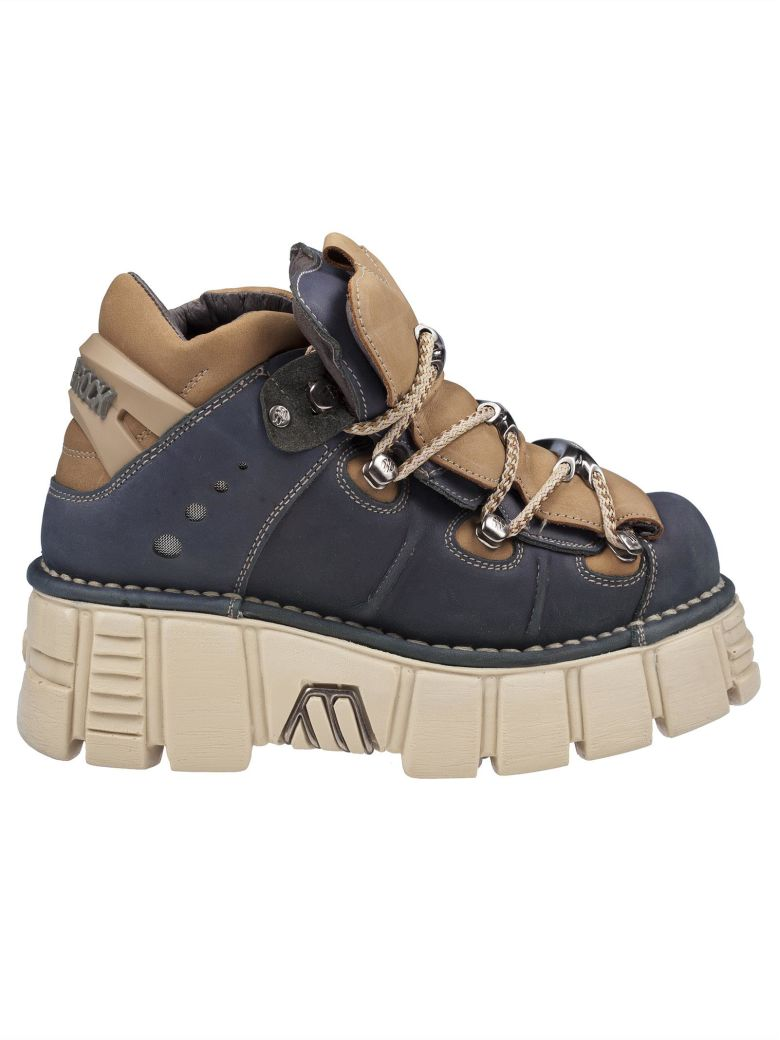 New Rock Nsrm 106 Platform Sneakers - Alaska safari