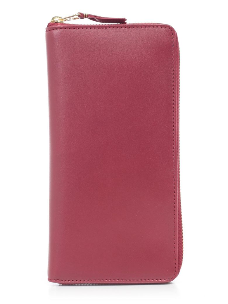 Comme des Garçons Wallet Classic Zip Around Wallet - Red