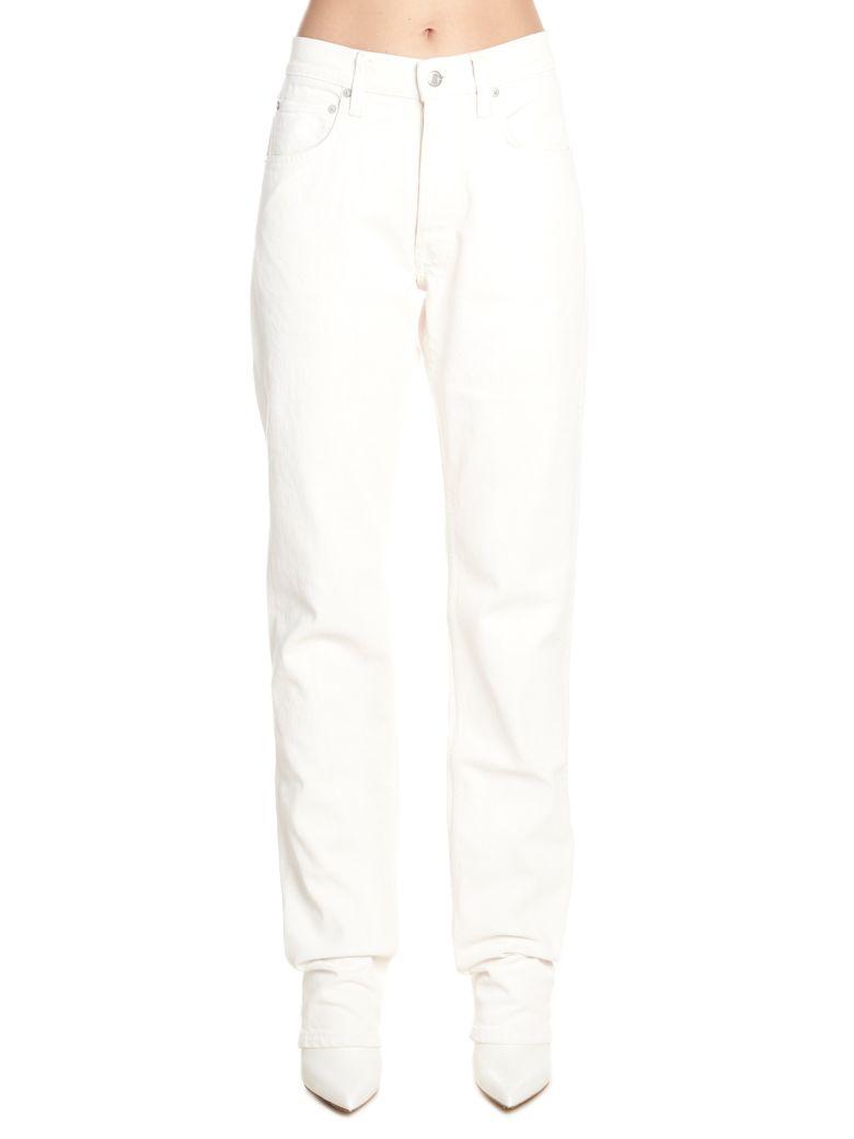 Helmut Lang 'masc Hi Strainght' Jeans - White
