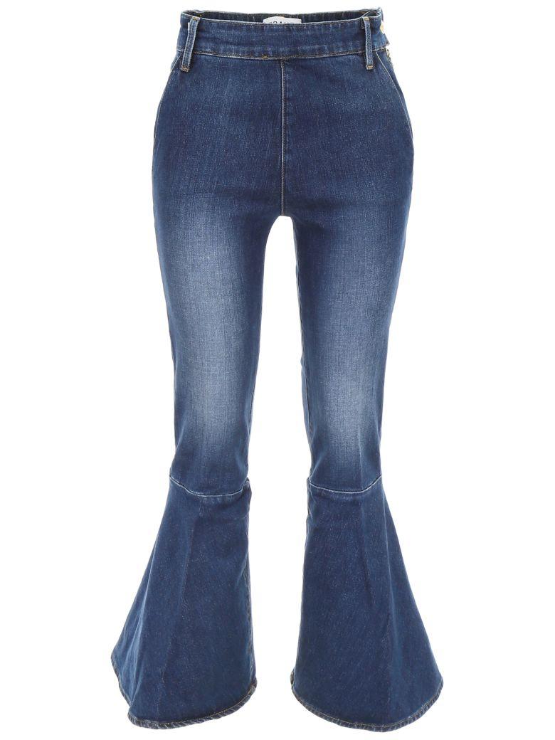Frame Flounce Jeans - DELAVAN (Blue)