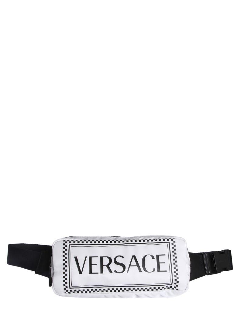 Versace Logo Pouch - BIANCO