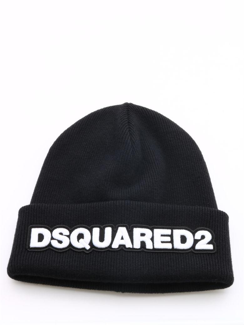Dsquared2 Black Logo Hat