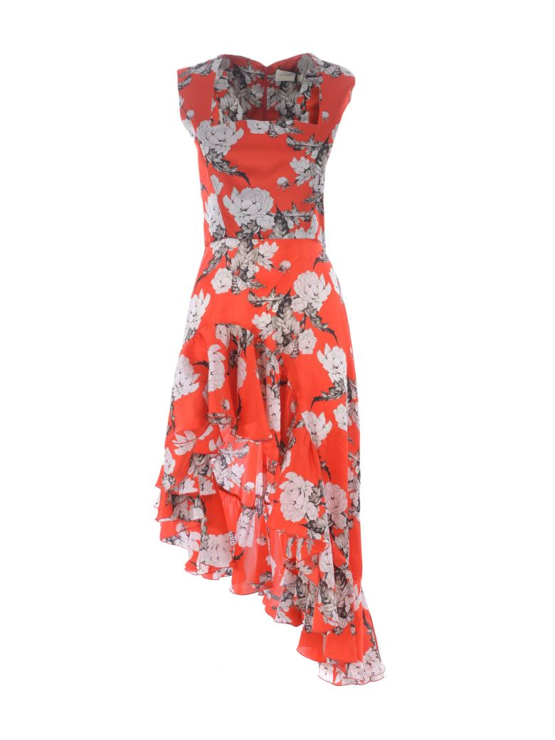 Giuseppe di Morabito Floral Print Dress - Rosso