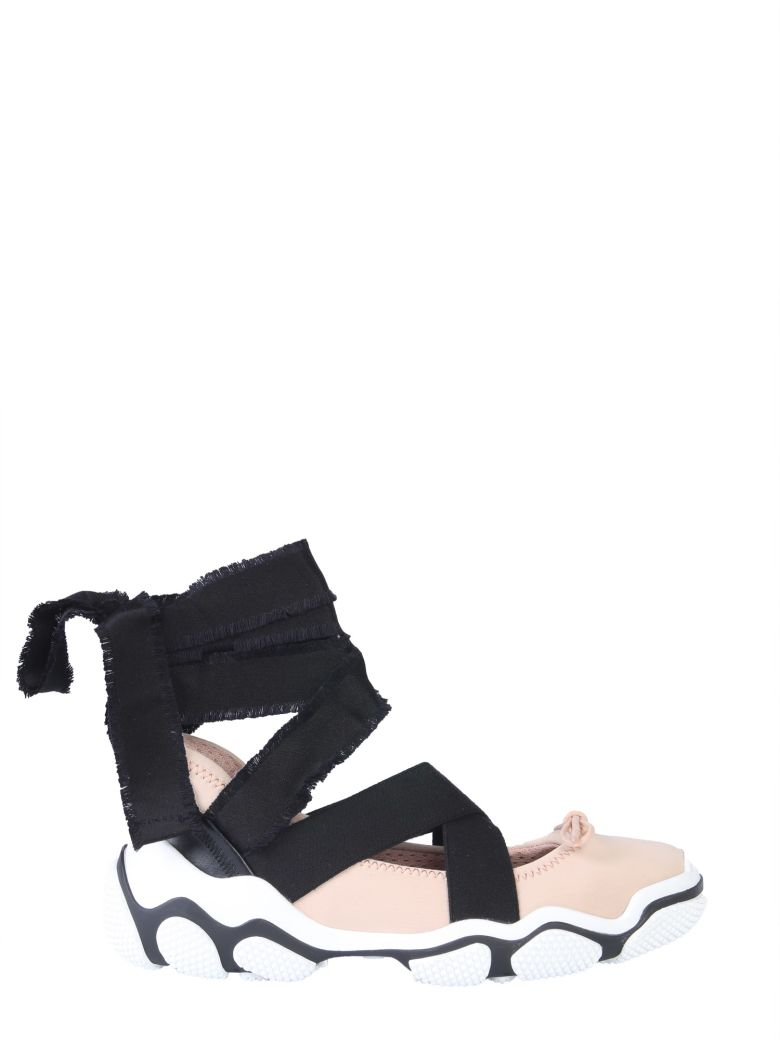 RED Valentino Glam Run Sneakers - NUDE