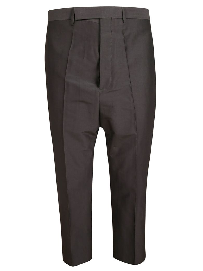 Rick Owens Cropped Trousers - Blue