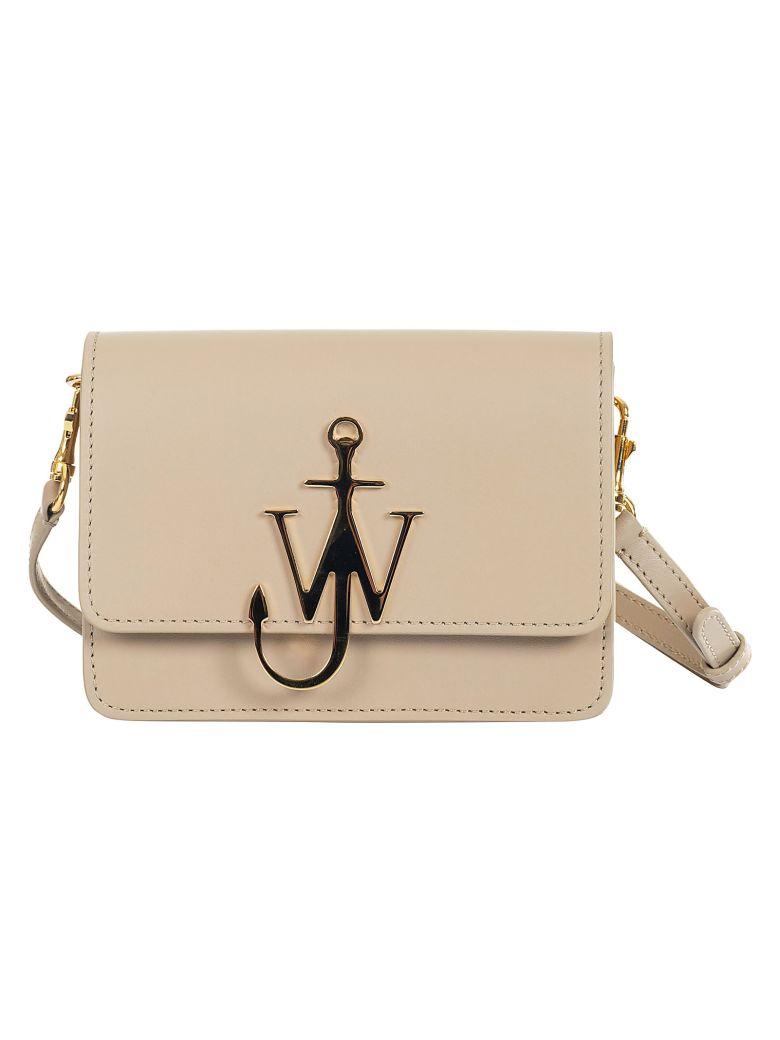 J.W. Anderson Jw Anderson Mini Logo Shoulder Bag - Ash