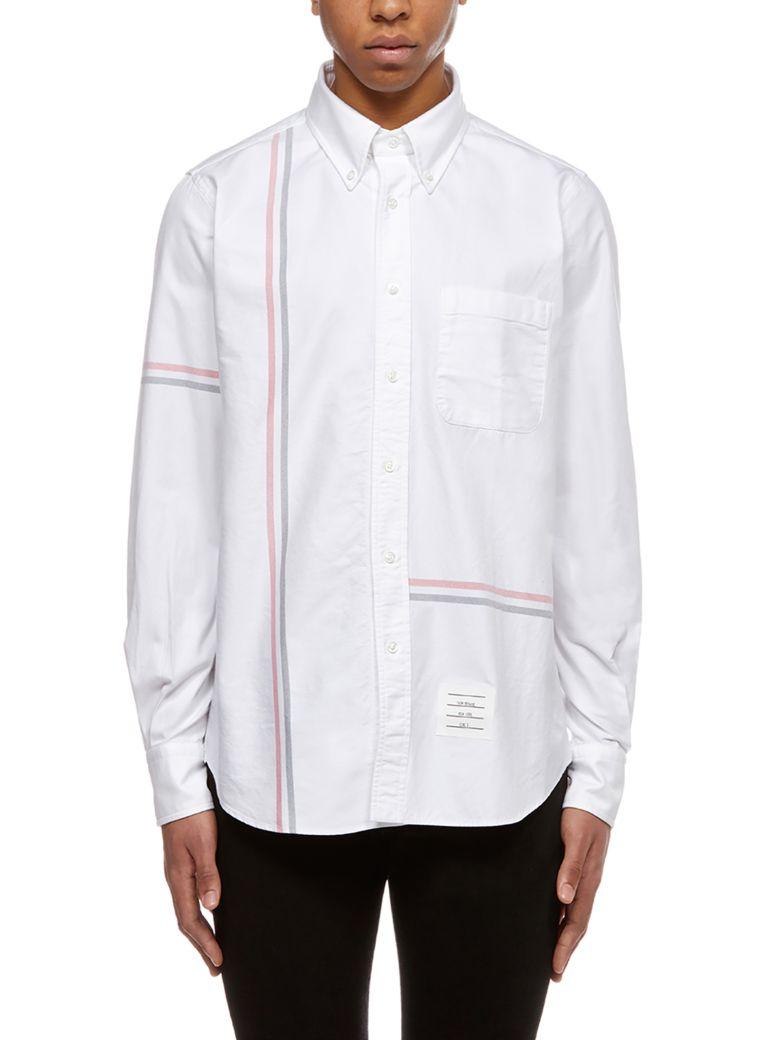 Thom Browne Striped Trim Shirt - Basic