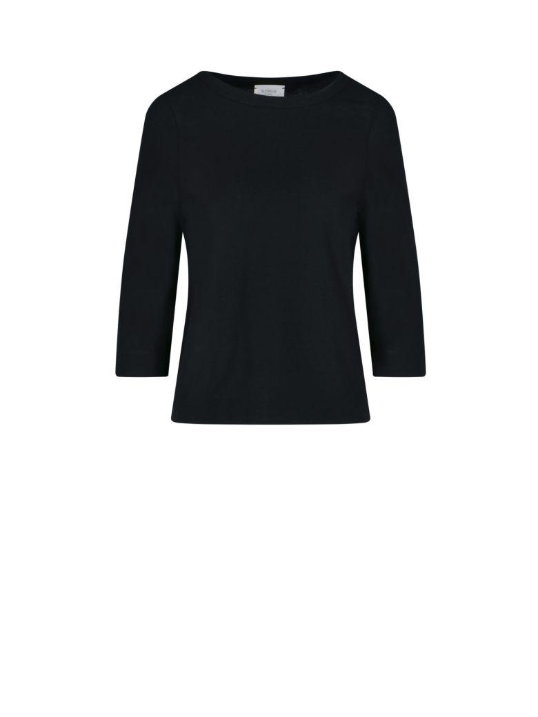 Zanone Three Quarter Sleeve T-shirt - Black