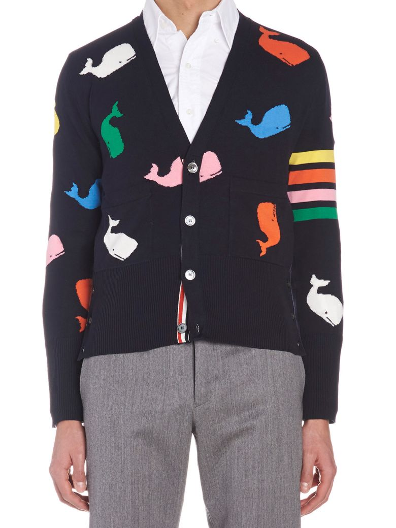 Thom Browne 'icon' Cardigan - Multicolor