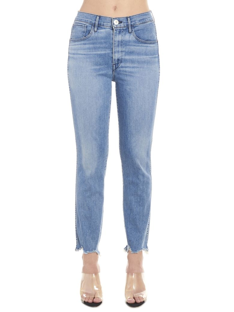 3x1 'straight Authentic Crop' Jeans - Blue