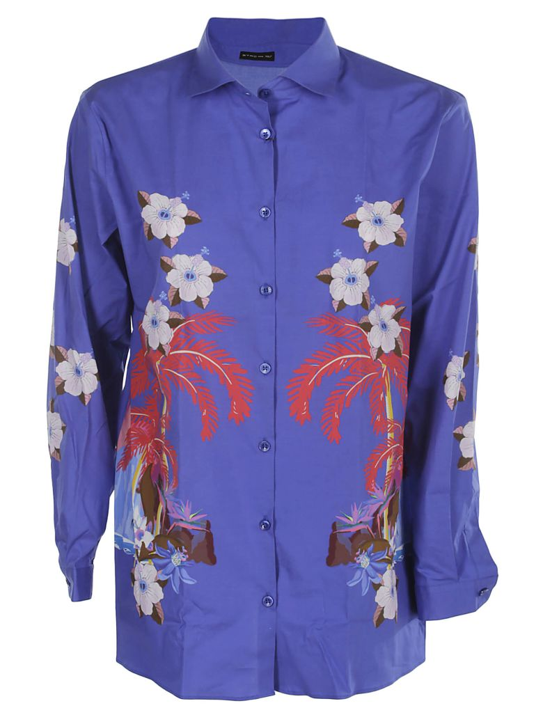 Etro Printed Shirt - Blue
