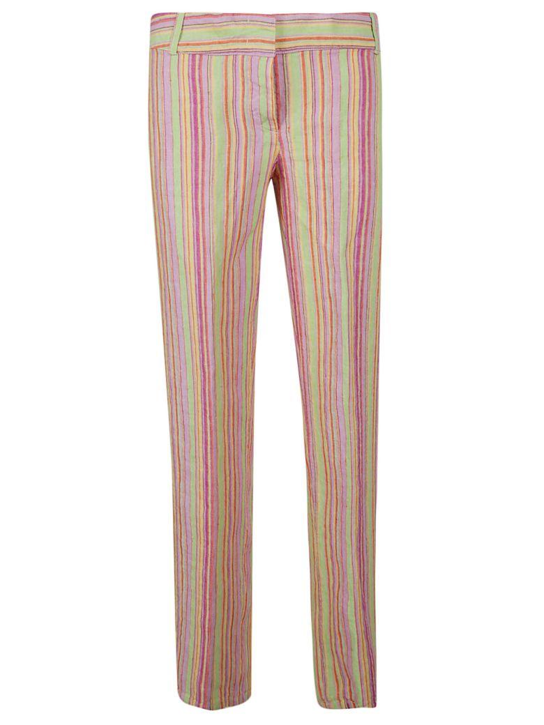 Aspesi Striped Trousers - Multicolor