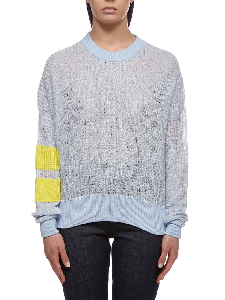 Valentine Witmeur Lab Oversized Knitted Sweater - Azure