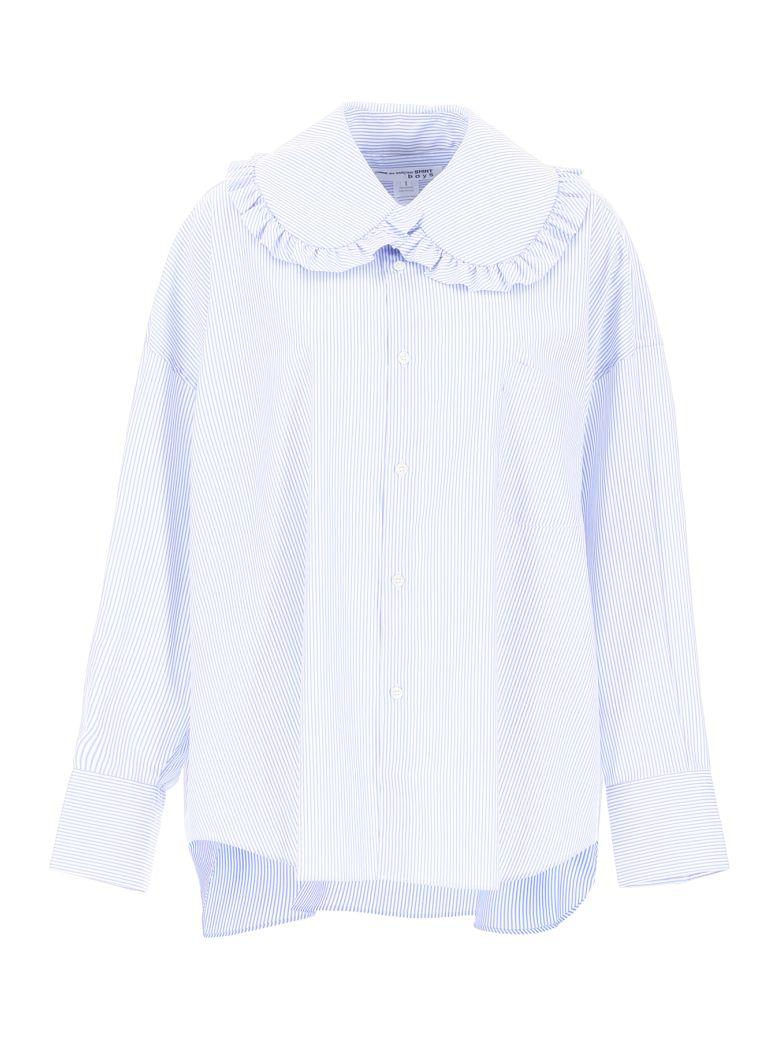 Comme des Garçons Boys Striped Shirt - STRIPE (White)
