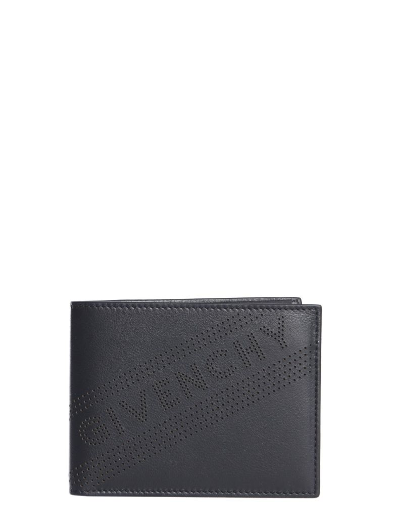 Givenchy Perforated Wallet - NERO