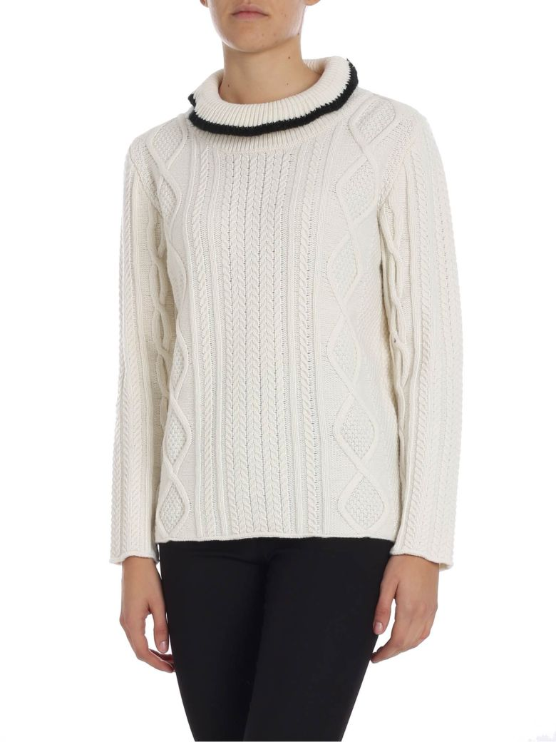 Altea High Collar Sweater - Cream