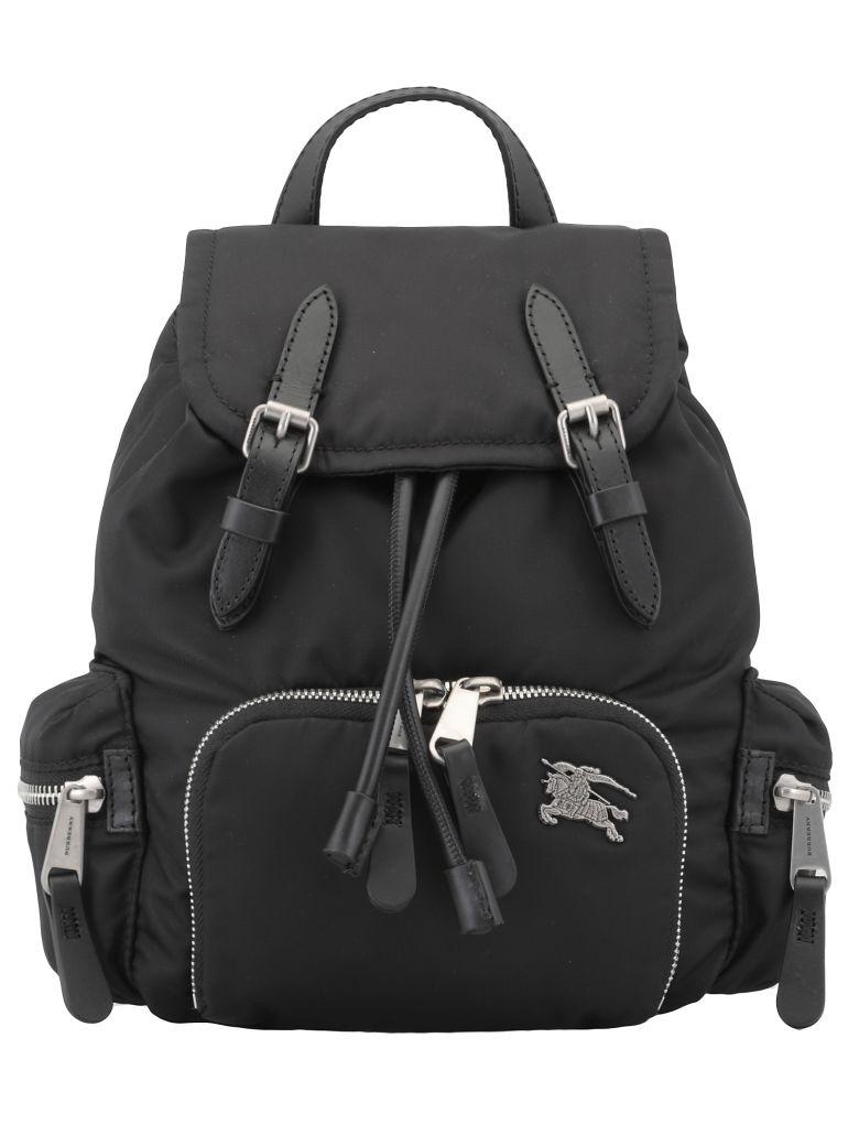 Burberry Rucksack Small Backpack - BLACK