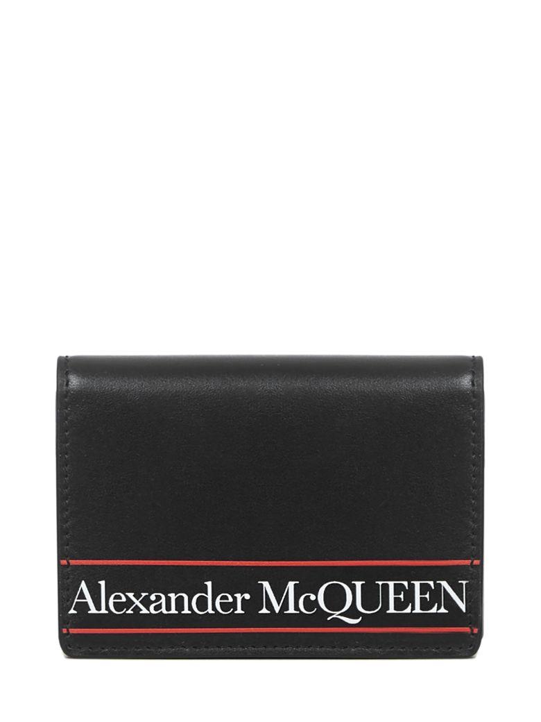 Alexander McQueen Wallet - Black/red