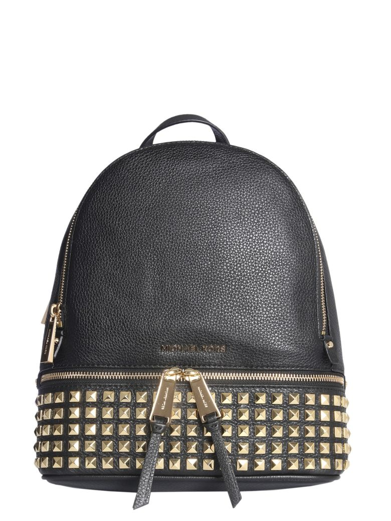 MICHAEL Michael Kors Medium Rhea Backpack - NERO