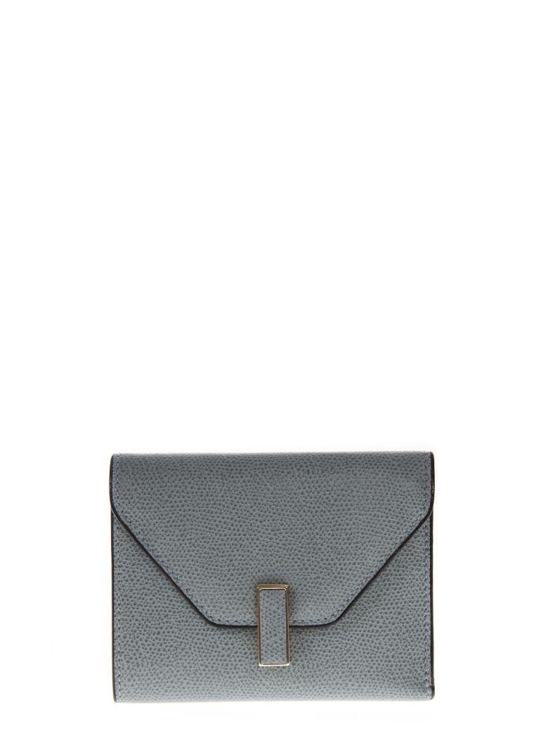 Valextra Light Gray Leather Wallet - Basic