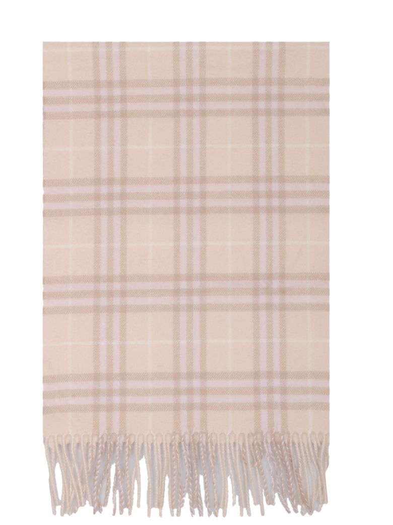 Burberry Striped Print Scarf