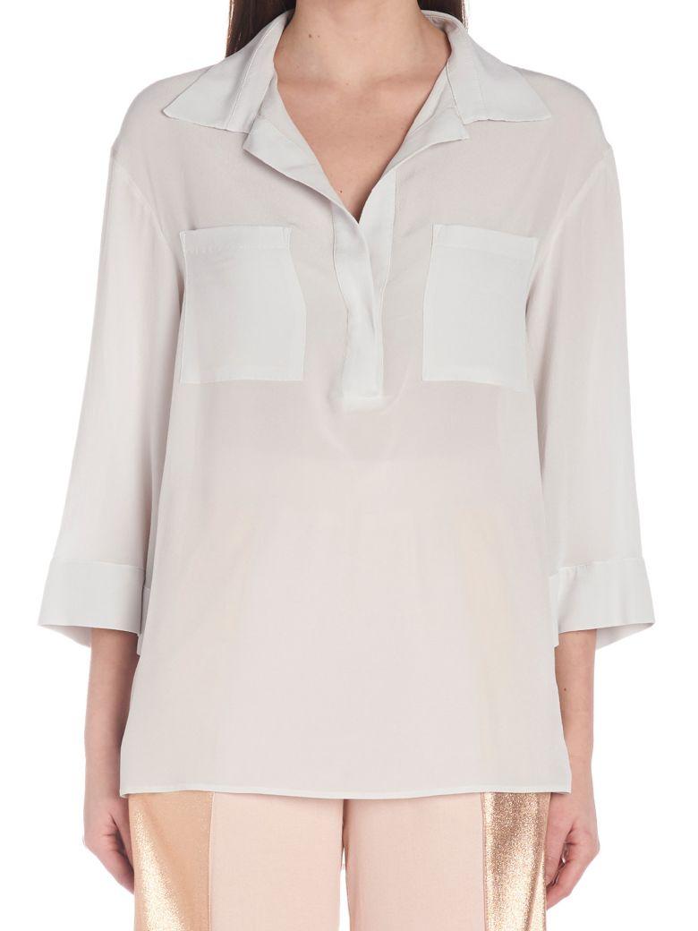 (nude) Shirt - White