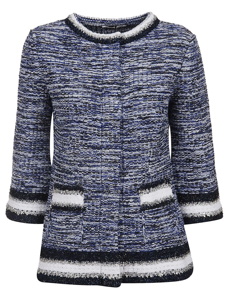 Charlott Embellished Jacket - Blu