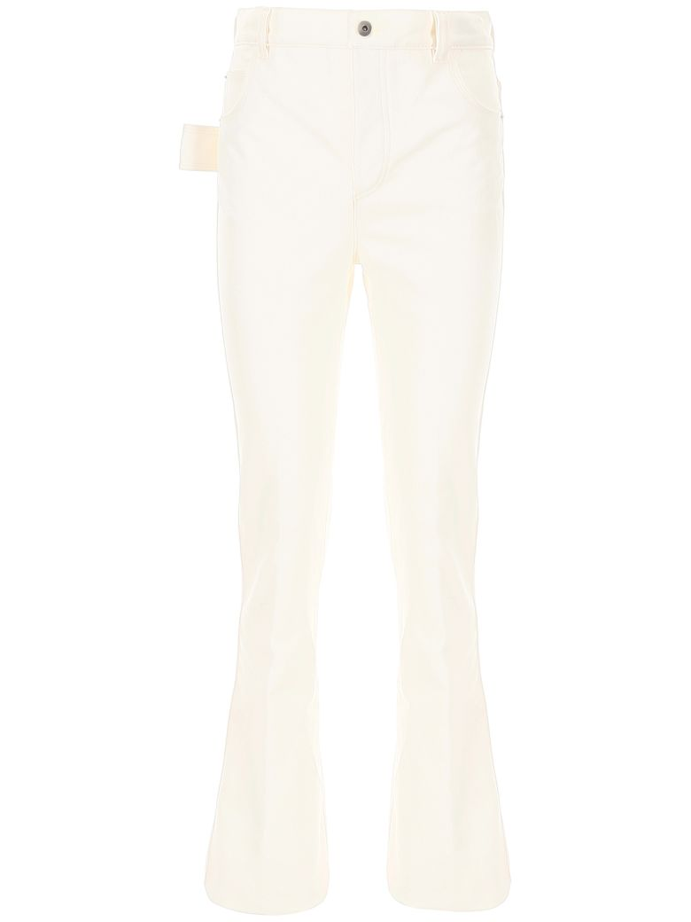 Bottega Veneta Flared Jeans - BIANCO (White)