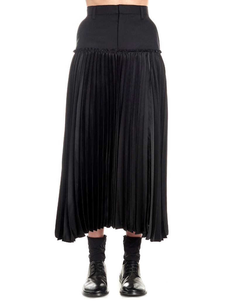 Noir Kei Ninomiya Skirt - Black