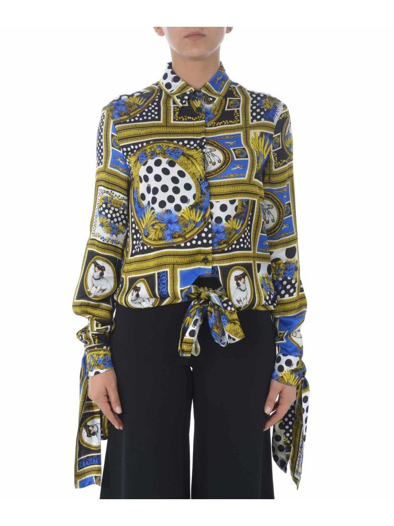 Versus Versace Tie Knot Printed Shirt - Multicolor