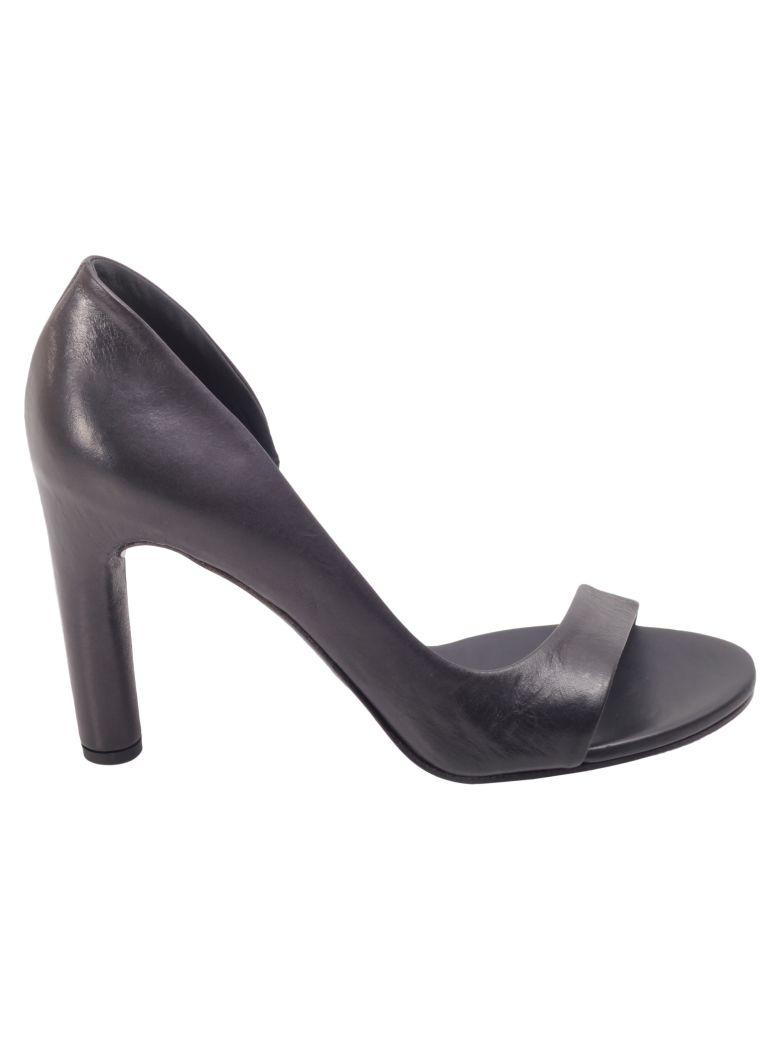 Roberto del Carlo Del Carlo Leather Heeled Shoes - BLACK