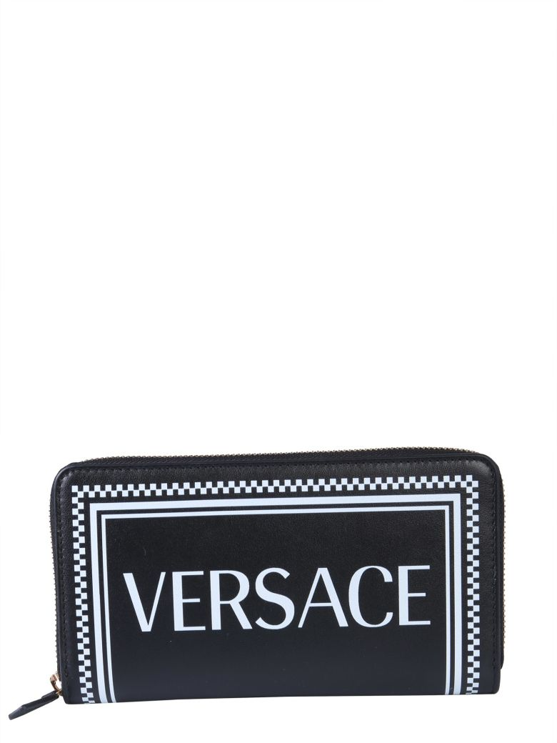 Versace Leather Wallet - NERO