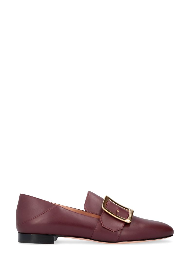 Bally Janelle Leather Loafers - Burgundy