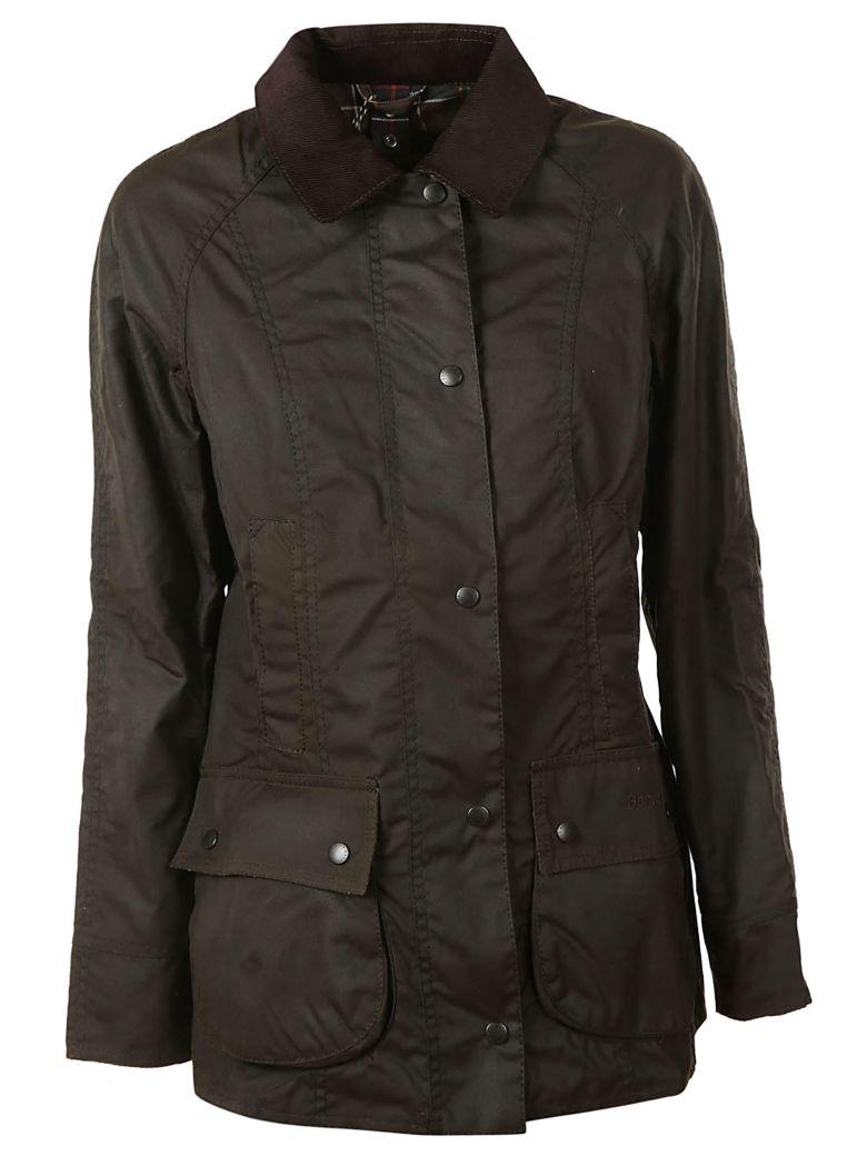 Barbour Buttoned Jacket - Dark Brown