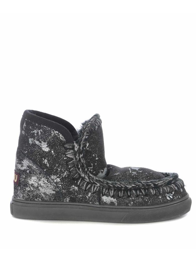 Mou Mini Eskimo Sneakers - Black