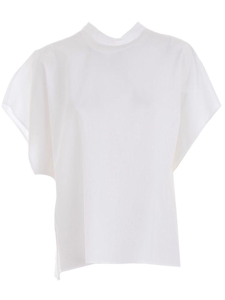 Hache Cap Sleeve Top - White