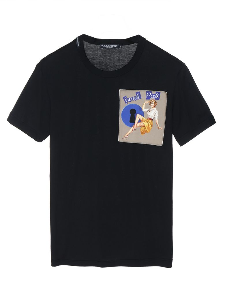 Dolce & Gabbana 'pin Up' T-shirt - Black